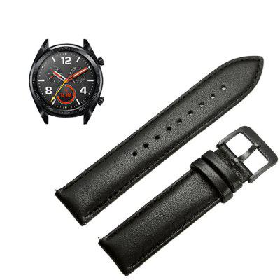 Echtes Leder Uhr Armband Gurt für Huawei Watch GT / Honor Magic