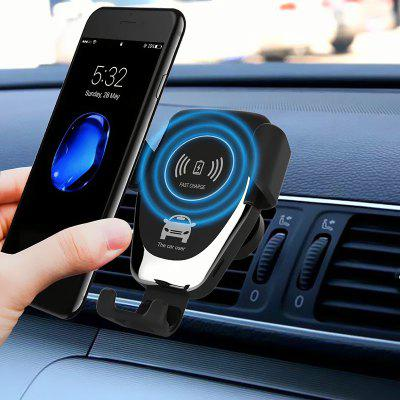 Wireless Car Charger Phone Mount Phone Holder 10W Fast Charging