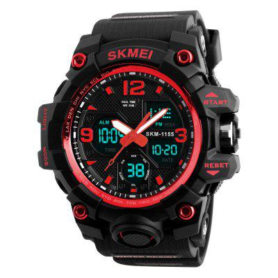 SKMEI Fashion Men LED digital multifunción reloj deportivo