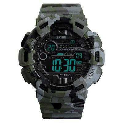 SKMEI Fashion Large Dial Men Electronic Sports Watch