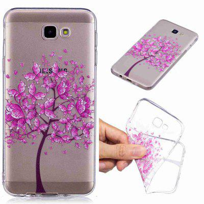 Butterfly Tree Pattern Soft TPU Case For SAMSUNG J5 Prime