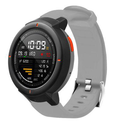 Silicone Watchband Strap for AMAZFIT Verge (A1801)