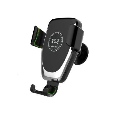 Cwxuan A10 10W Fast Wireless Charger Car Mount Holder per cellulare