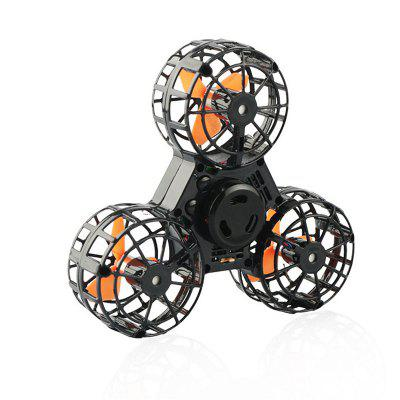 Drone Flying Fidget Spinner Stress Relief Gift Flying USB charging Gyroscop Toy