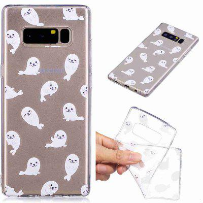 Sea Lions Pattern Soft TPU Case For SAMSUNG Note 8