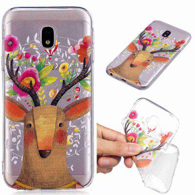 Deer Pattern Soft TPU Case for Samsung J730