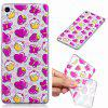Strawberry Cake Pattern Soft TPU Case for Sony Xperia XA - TRANSPARENT