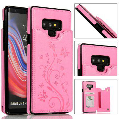 Luksusowy PU Leather Floral Wallet Etui na smartfona do Samsung Galaxy Note 9