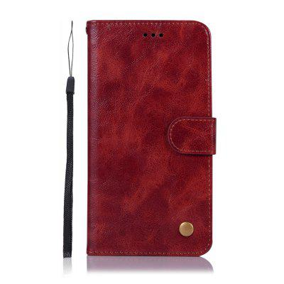 Fashion PU Flip Wallet Leather Phone Cover for Xiaomi Redmi 7 Case
