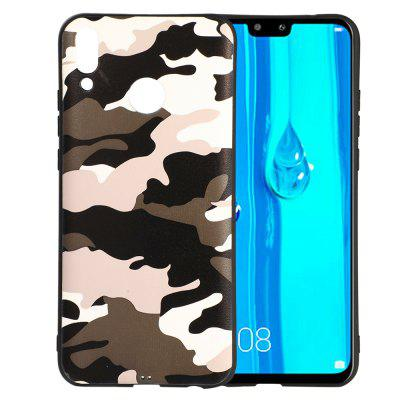 Camouflage Telefoonhoesjes Soft TPU Silicon Cover voor Huawei Enjoy 9 Plus Case