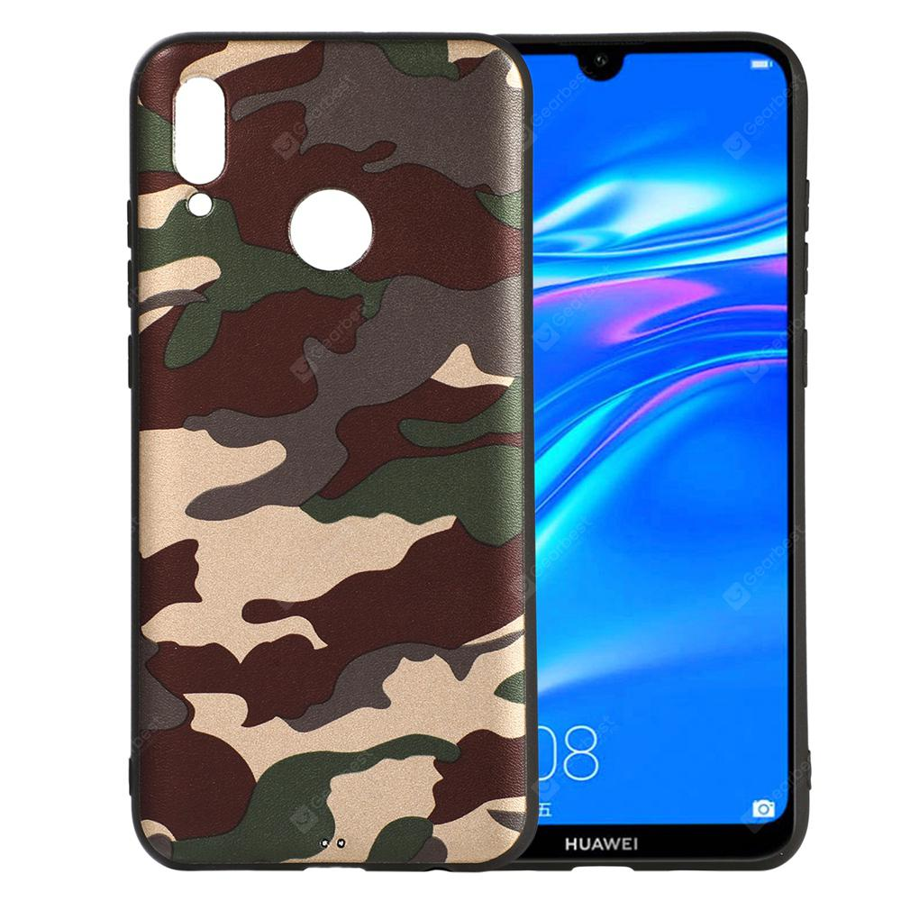 Camouflage Phone Cases Soft TPU Silicon Back Cover for Huawei Y7 Prime 2019  Case