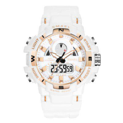Smael Men's Fashion Creative Dial Noctilucenți Analog-Digital Watch Sport