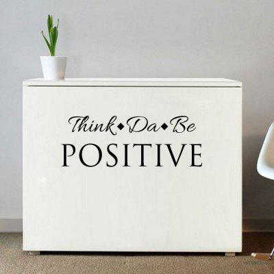 Creative Personal Motto Sticker Living Room Wall and Home Wall Sticker