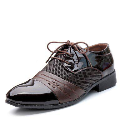 Men Fashion Casual Pointed Big Size Shoes
