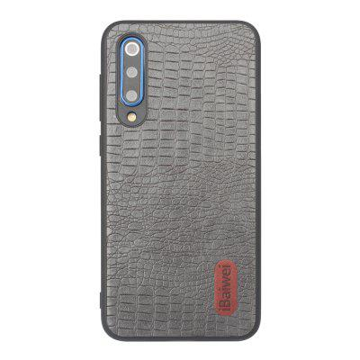 iBaiwei High Quality PU Alligator Texture TPU Phone Case for Xiaomi Mi 9