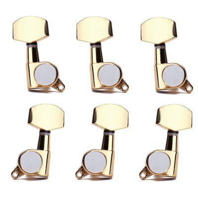 Gold Guitar String Tuning Pegs Tuners Machine Head Keys 3L3R