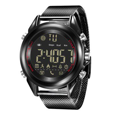 B1707 Android IOS Bluetooth pe termen lung Sport Meter Smart Electronic Watch