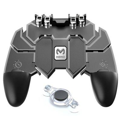 Minismile Mobile Game Joystick Trigger Controller Gamepad Set for Smartphone
