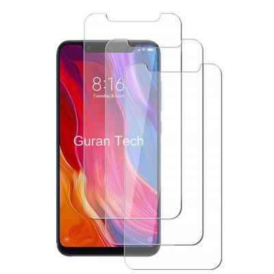 9H Tempered Glass Film for Xiaomi Mi 8 / Mi 8 Pro 3pcs