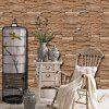 Fashion Brick Waterproof Self-adhesive Wallpaper - MULTI