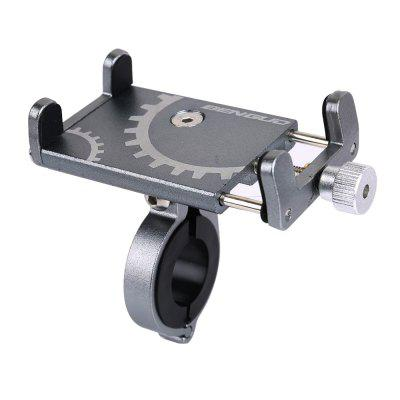90-degree Rotation Aluminum Alloy Bicycle Bracket for Mobile Phone