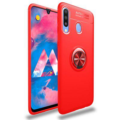 Ring Holder Back Cover Shockproof TPU Case for Samsung Galaxy M30