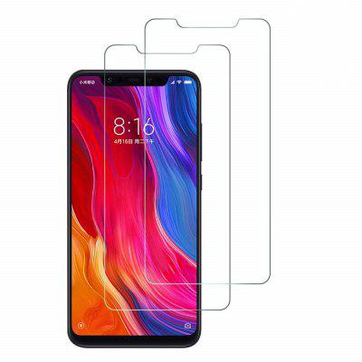 9H Tempered Glass Film for Xiaomi Mi 8 / Mi 8 Pro / Mi 8 Explorer  2pcs