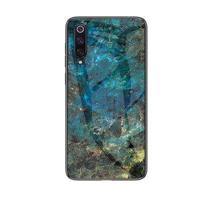 Creative Fashion Marble Pattern Glass Back Hard Case Cover For Xiaomi 9 SE