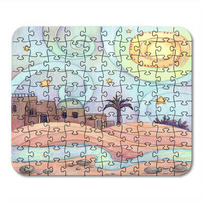 Jigsaw Paper Cool Beautiful Puzzle Soft Toy Assemblée Anniversaire