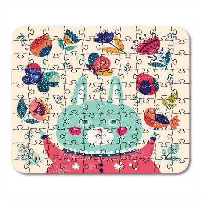 Jigsaw Paper Puzzle Soft Block Assembly Birthday Toy
