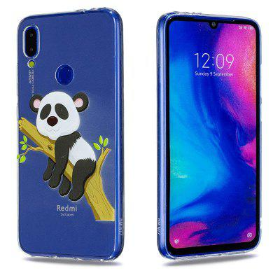 Panda Pattern Soft TPU Case do Xiaomi Redmi Note 7 / Note 7 Pro