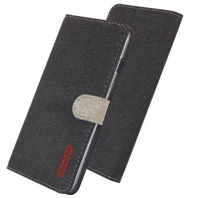 Luxury Wallet Flip Case Cloth Card Holder Phone Cover for iPhone X Case