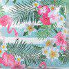 Sequined Printed Flamingo Pillowcase Nordic Wind Fashion Pillow Cover - MULTI-J