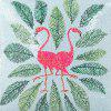 Sequined Printed Flamingo Pillowcase Nordic Wind Fashion Pillow Cover - MULTI-G
