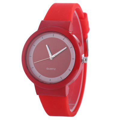 Geneva Fashion High Quality Color Waterproof Silicone Ladies Watch