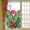 Mode Flamingo Verwijderbare PVC Window Film Muursticker Matte - MULTI