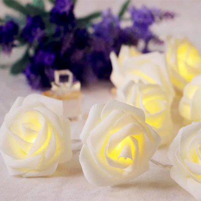 3m 20-LED Rose Style USB String Light pro dekoraci