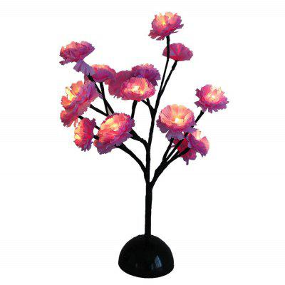 Flower Style LED Desk Night Light for Decoration