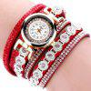 Duoya Fashion Femmes strass Quartz Montre pour Dame - MULTI-F