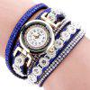 Duoya Fashion Femmes strass Quartz Montre pour Dame - MULTI-D
