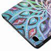 Spread Flower Painted Tablet Leather Case for iPad Mini 1 / 2 / 3 / 4 / 5 - MULTI