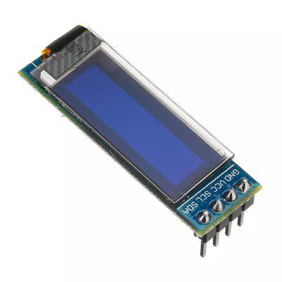 0.91 Inch OLED LCD Display Module IIC 12832 LCD Display Compatible with 3.3V-5V