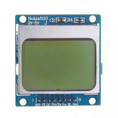 Blue MCU Development Board 5110 LCD Screen Module Compatible with 3310 LCD