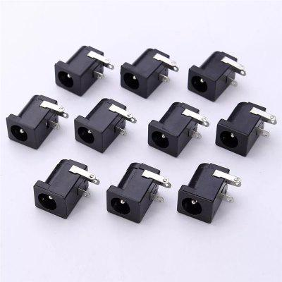 Connettore DC-005 3PIN nero DC Power Jack presa 50PCS