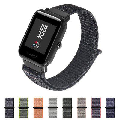 Sport Nylon Loop WristBand Strap voor AMAZFIT Bip Youth