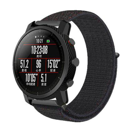 Sport nylon lus WristBand Strap voor AMAZFIT Pace Stratos 2 / 2S