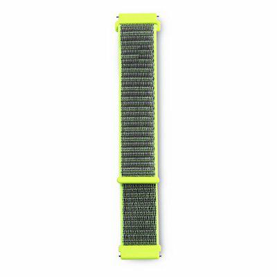 Woven Nylon Loop WristBand Strap For Pebble Time Watch