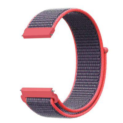 Geweven Nylon Loop WristBand Strap For Pebble Time Watch