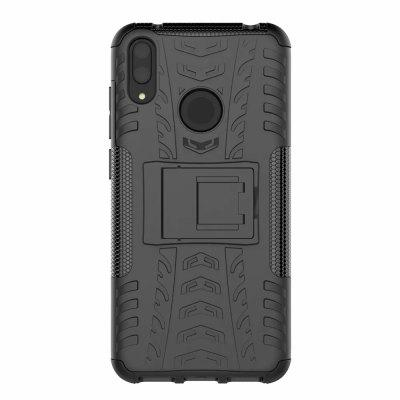 Custodia rigida antiurto in gomma con custodia in gomma ibrida per HUAWEI Y7 Pro 2019 / Enjoy 9