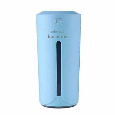 Mini 230ML Cup-Shaped USB Air Humidifier 7-COLOR Lamp Essential Oil Diffuser